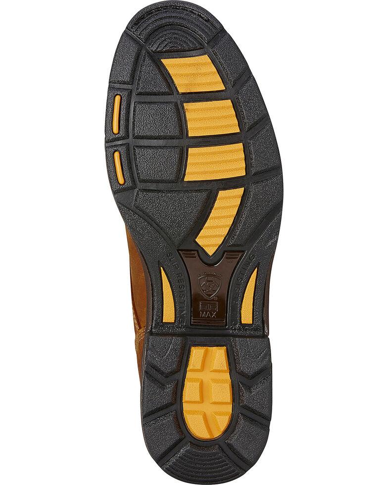 "Ariat Men's Workhog 8"" Lace-Up Work Boots - Composite Toe, Aged Bark, hi-res"