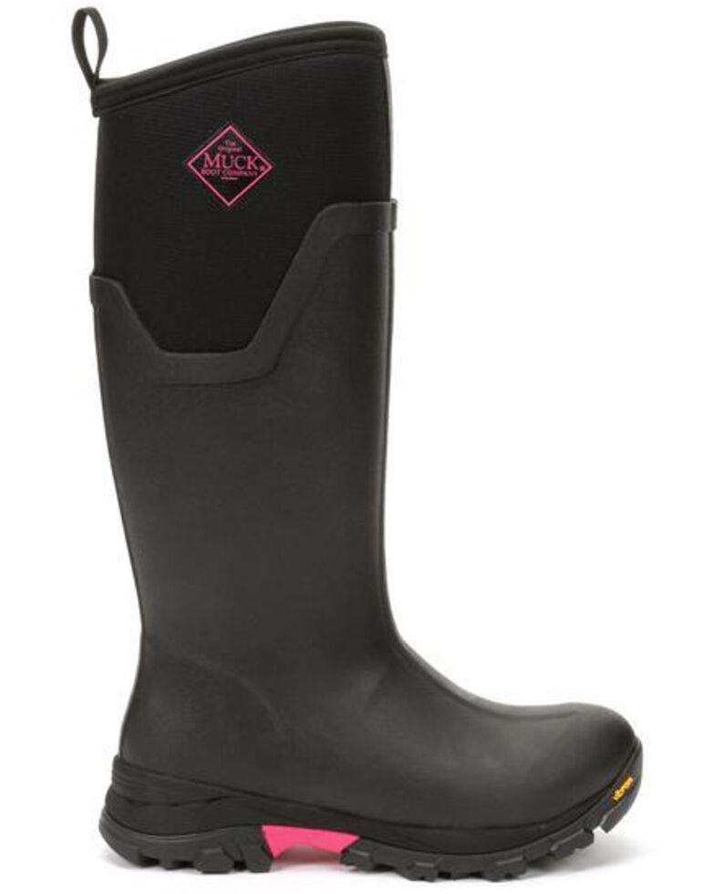Muck Boots Women's Arctic Ice Rubber Boots - Round Toe, Pink, hi-res