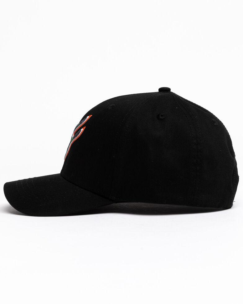 Hawx Men's Camo Logo Puff Ball Cap , Black, hi-res