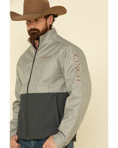 Cinch Men's Multi Color Blocked Textured Bonded Jacket , Multi, hi-res
