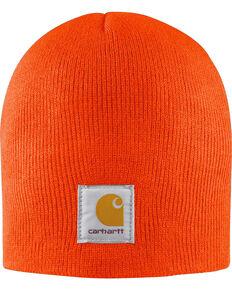 Carhartt Acrylic Knit Hat, Orange, hi-res