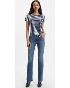 Levi's Women's Hawaii Breeze Bootcut Jeans, Blue, hi-res