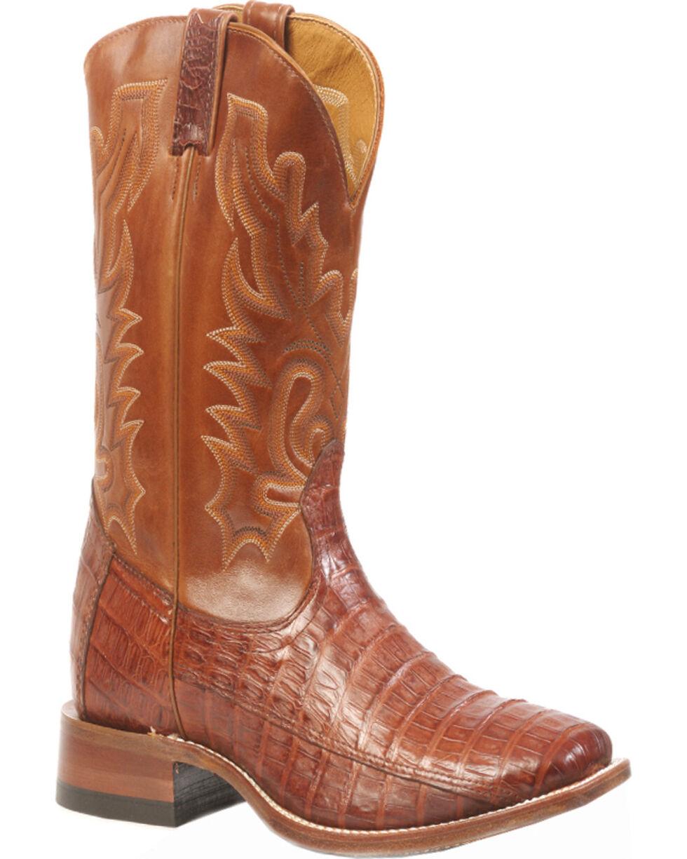 Boulet Peanut Caiman Belly Boots - Square Toe, , hi-res