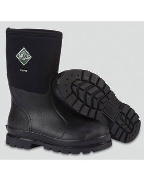 Muck Men's Chore Mid Work Boots, Black, hi-res