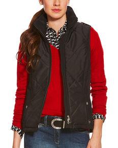 Ariat Women's Terrace Vest, Black, hi-res
