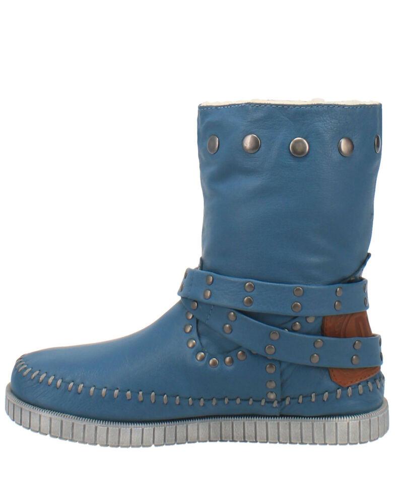 Dingo Women's Malibu Western Boots - Round Toe, Blue, hi-res