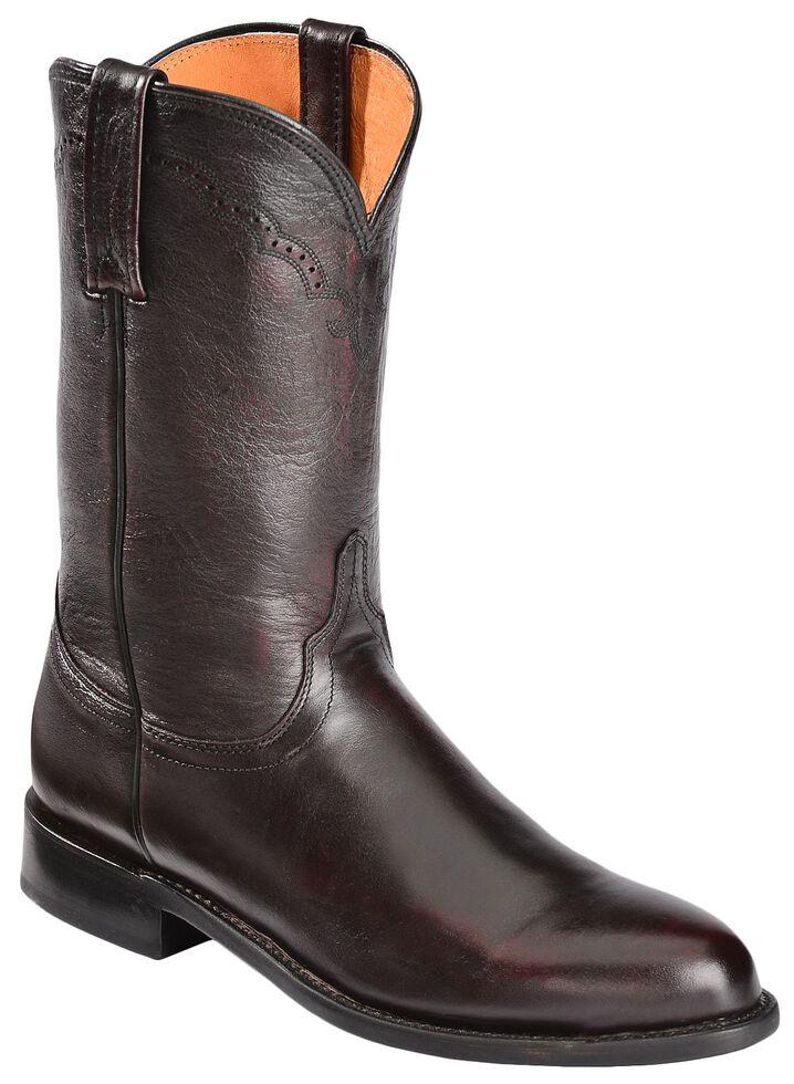 3719a15b060 Lucchese Handmade 1883 Lonestar Calf Roper Boots - Round Toe