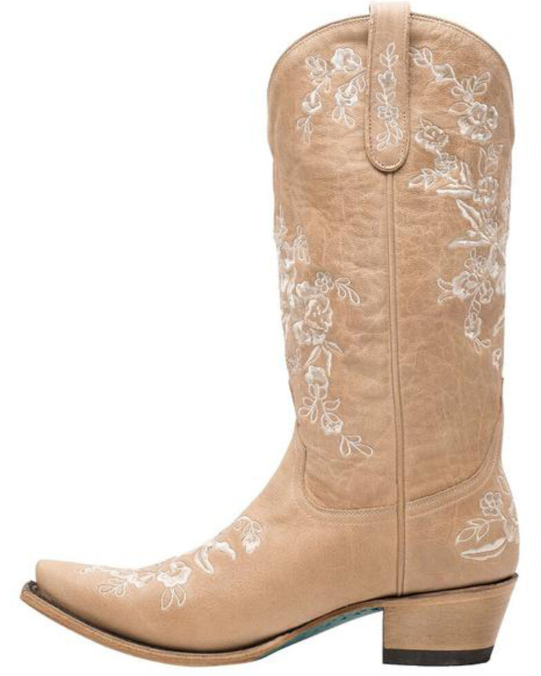 Lane Women's Lacey Western Boots - Snip Toe, Brown, hi-res