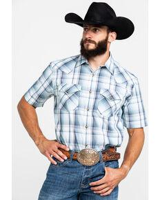 Pendleton Men's Frontier Short Sleeve Shirt , Light Green, hi-res