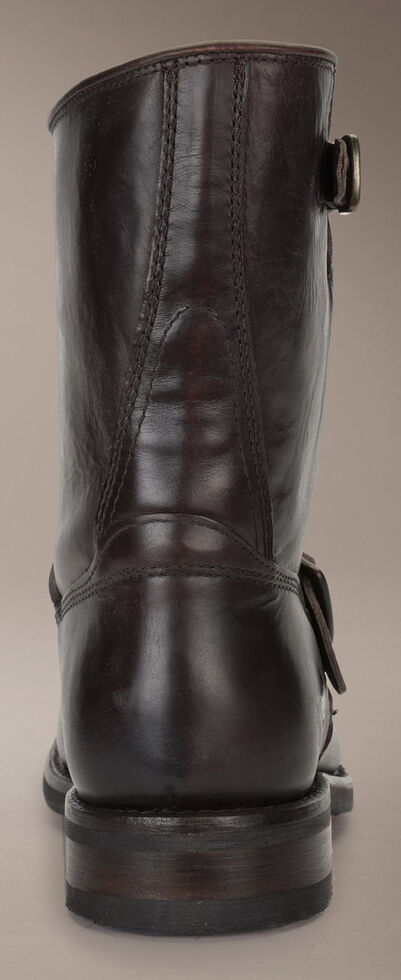 Frye Sutton Engineer Boots, Dark Brown, hi-res