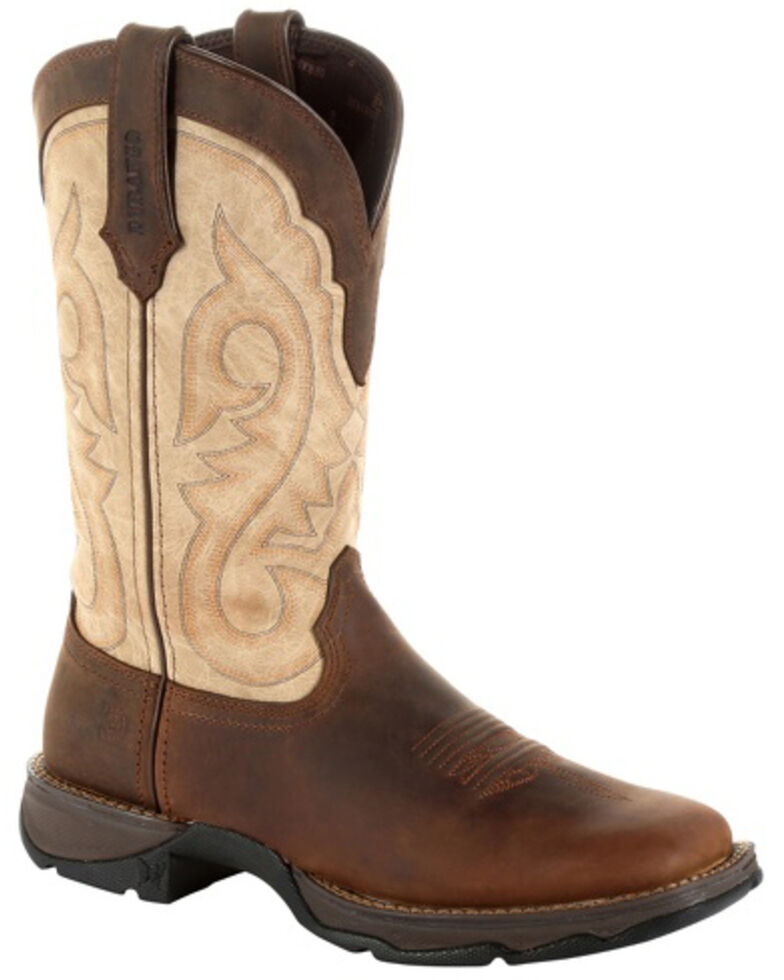 166f7152eed Durango Women's Lady Rebel Brown Western Boots - Square Toe