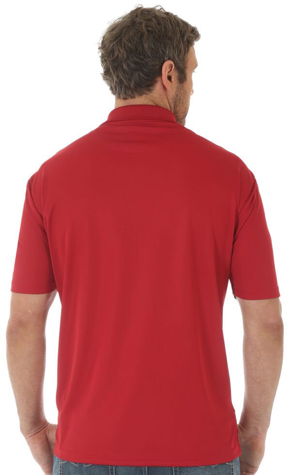 Wrangler 20X Men's Red Advanced Comfort Performance Polo Shirt , Red, hi-res