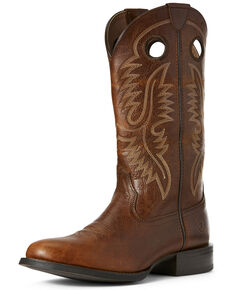 49834948876 Ariat Men s Sport Big Hoss Patina Western Boots - Round Toe