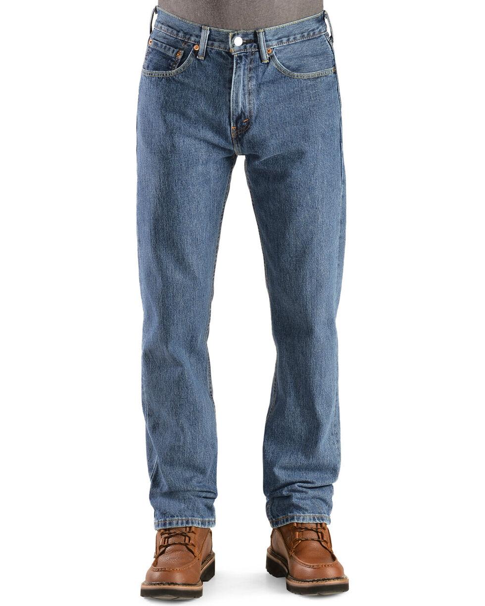 Levi's 505 Jeans - Prewashed Regular Fit, Stonewash, hi-res