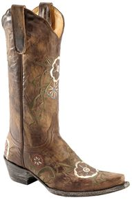 Old Gringo Tyler Cowgirl Boots - Snip Toe, Brass, hi-res