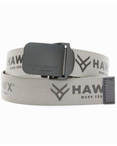 Hawx Men's Web Belt, Grey, hi-res