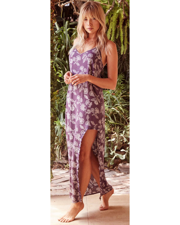 Country Purple Dress