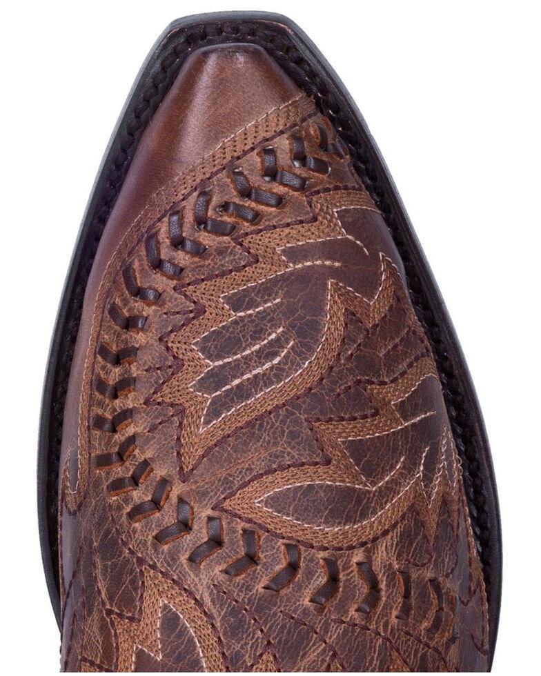Dan Post Men's Tuff Western Boots - Snip Toe, Sand, hi-res