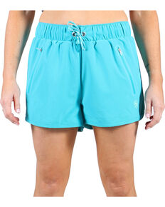 Ariat Women's Bluebird Mesa Shorts , Blue, hi-res