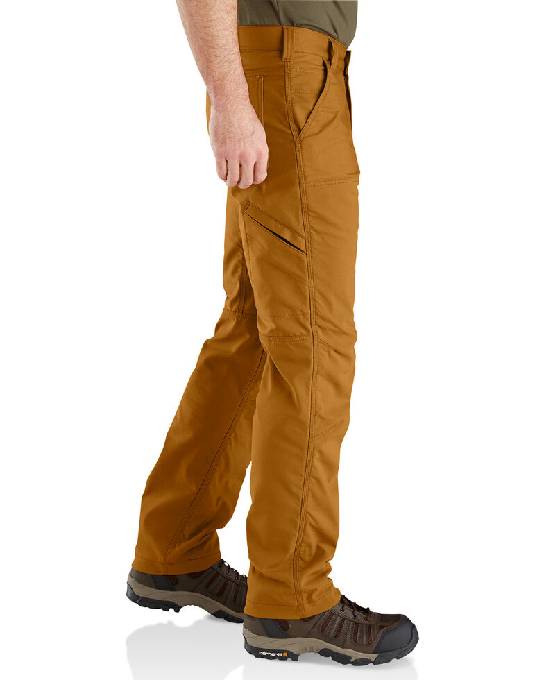 Carhartt Men's Rugged Flex Upland Field Straight Work Pants , Pecan, hi-res