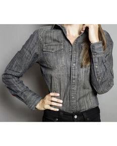 Kimes Ranch Women's Zorro Denim Shirt, Black, hi-res