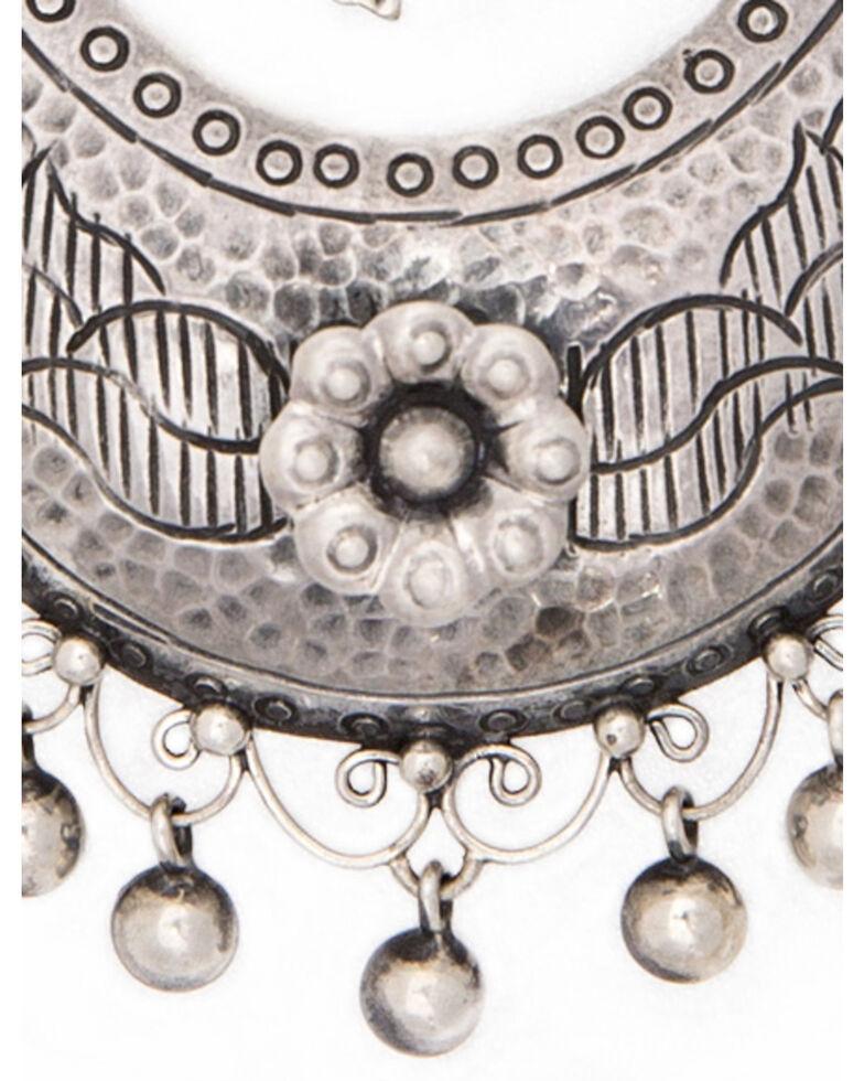 Double D Ranch Women's De Vargas Earrings, Silver, hi-res
