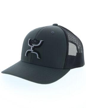 HOOey Men's Sterling Logo Ball Cap , Grey, hi-res