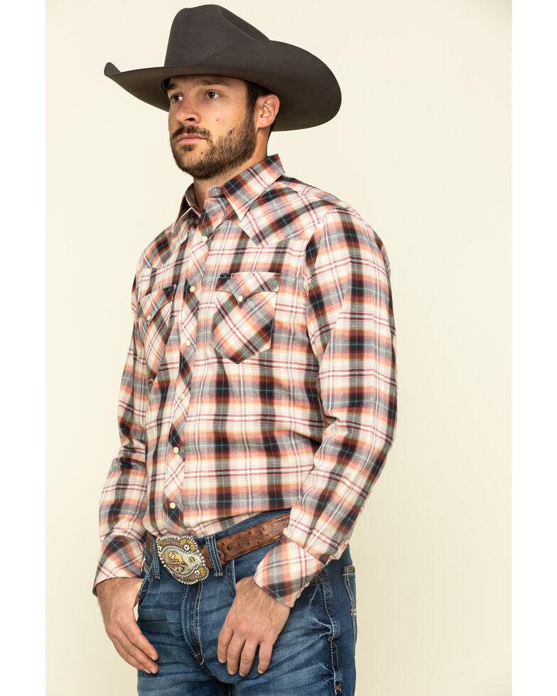 Roper Men's West Made Multi Rope Plaid Long Sleeve Western Shirt , Multi, hi-res