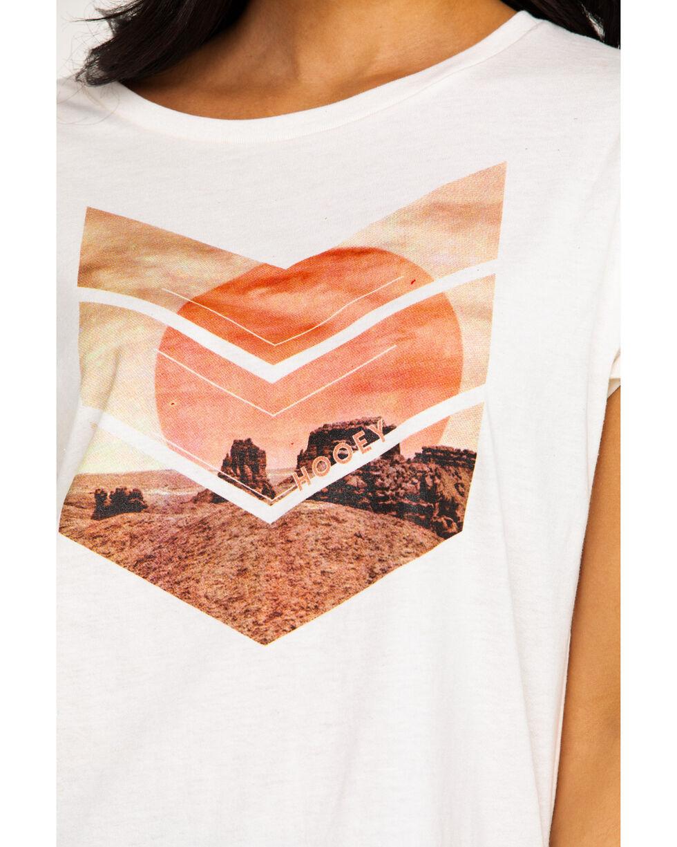 HOOey Women's Arrowhead Graphic T-Shirt , Ivory, hi-res