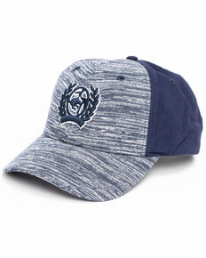 Cinch Men's Navy Logo Patch Trucker Cap , Navy, hi-res