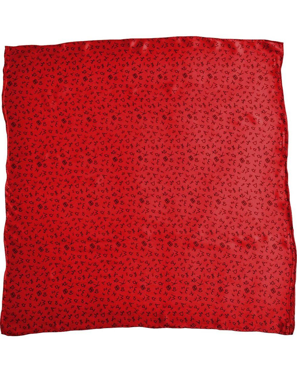 Red Branding Design Silk Wild Rag, Red, hi-res