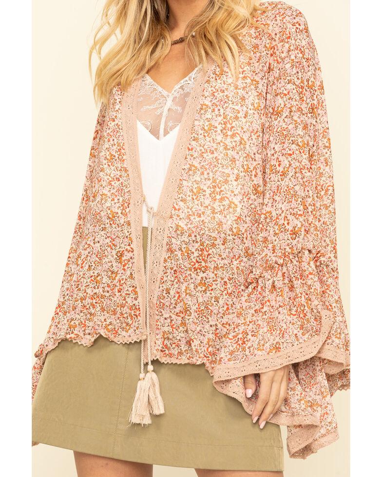 Free People Women's Lola Kimono, Natural, hi-res