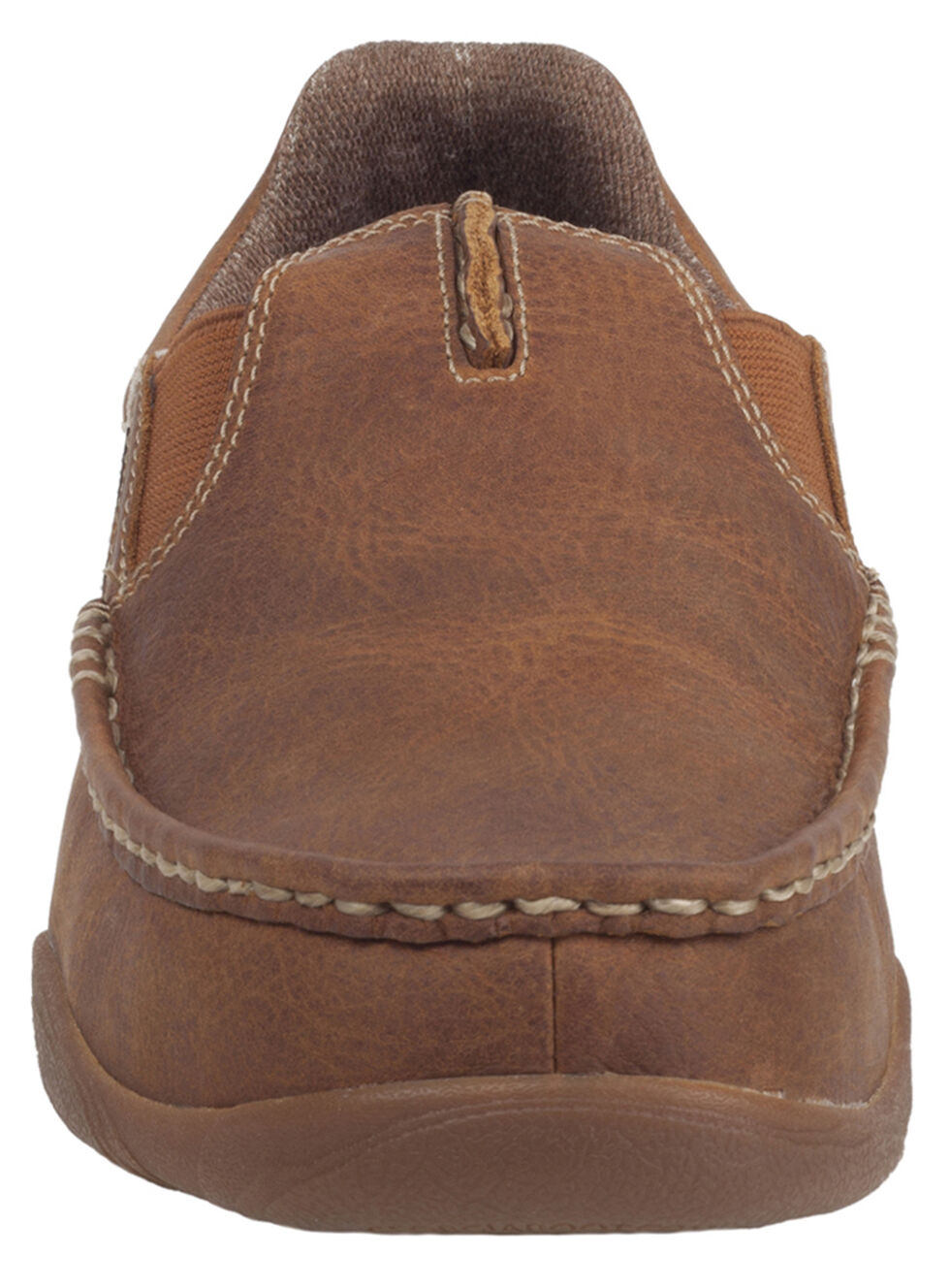 Georgia Cedar Falls Moc-Toe Slip-On Shoes, Tan, hi-res