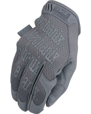 Mechanix Wear Original Wolf Grey Gloves , Grey, hi-res