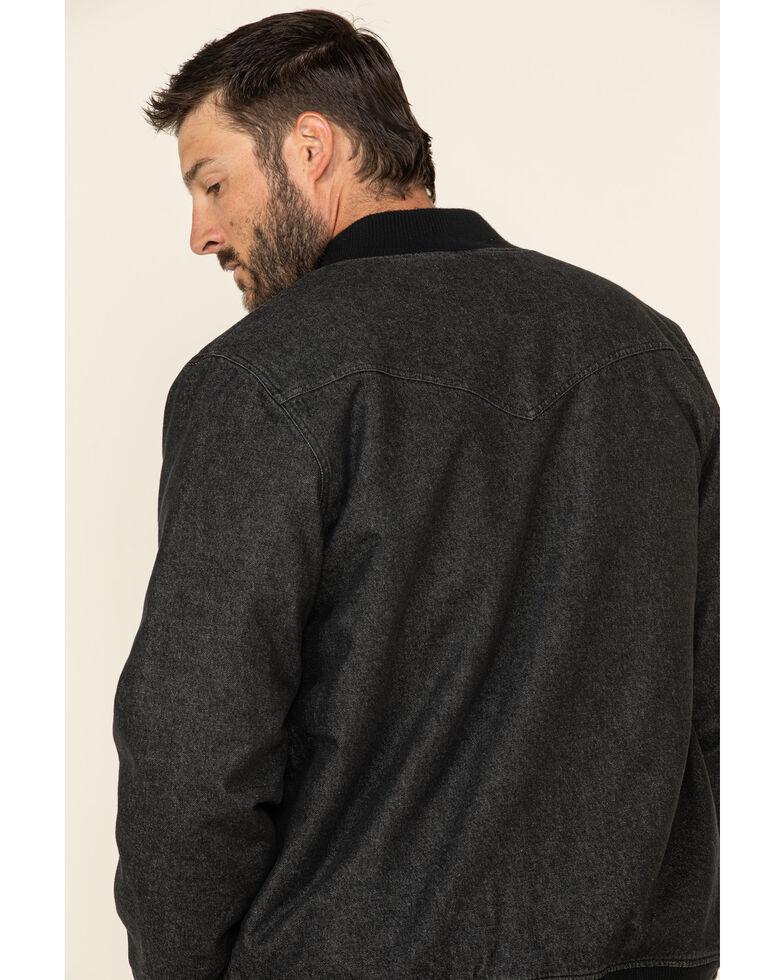 Moonshine Spirit Men's Steal Bomber Sherpa Lined Jacket , Black, hi-res