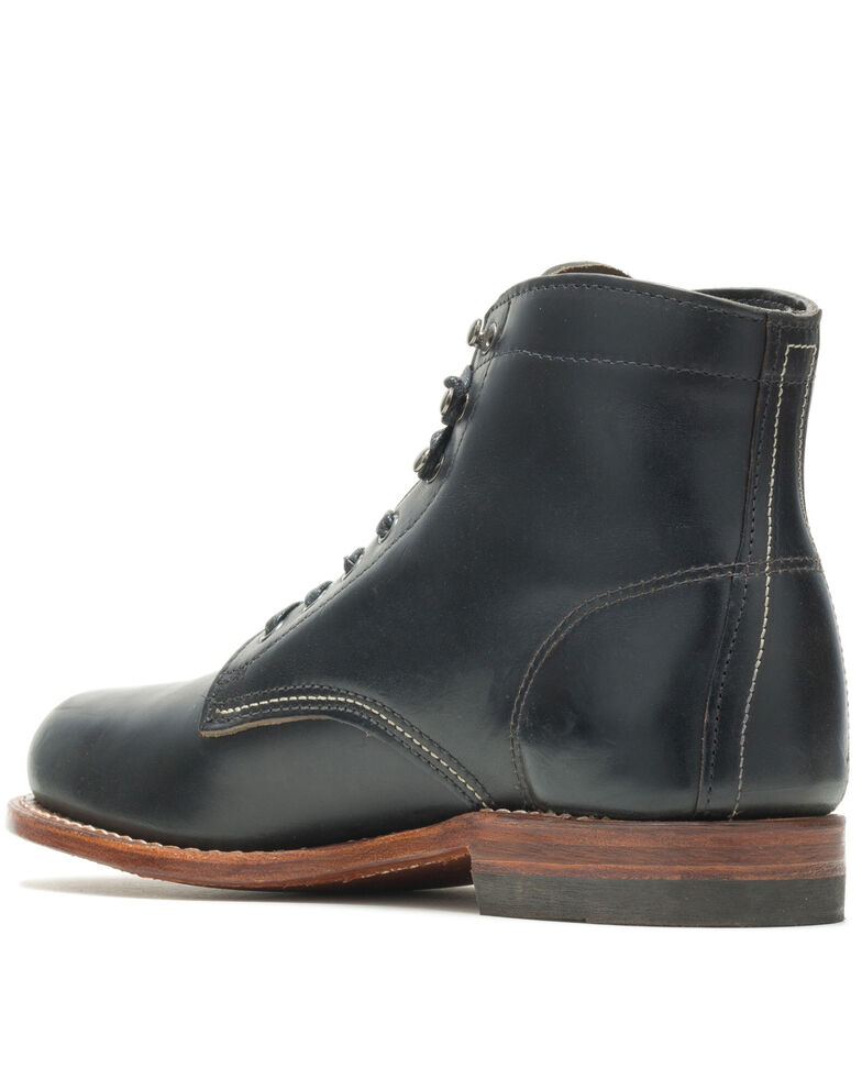 Wolverine Men's Original 1000 Mile Work Boots - Soft Toe, Black, hi-res