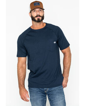 Dickies Men's Navy Temp-IQ Performance Cooling T-Shirt, Navy, hi-res