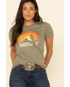 Ariat Women's Olive Desert Dweller Graphic Tee , Olive, hi-res