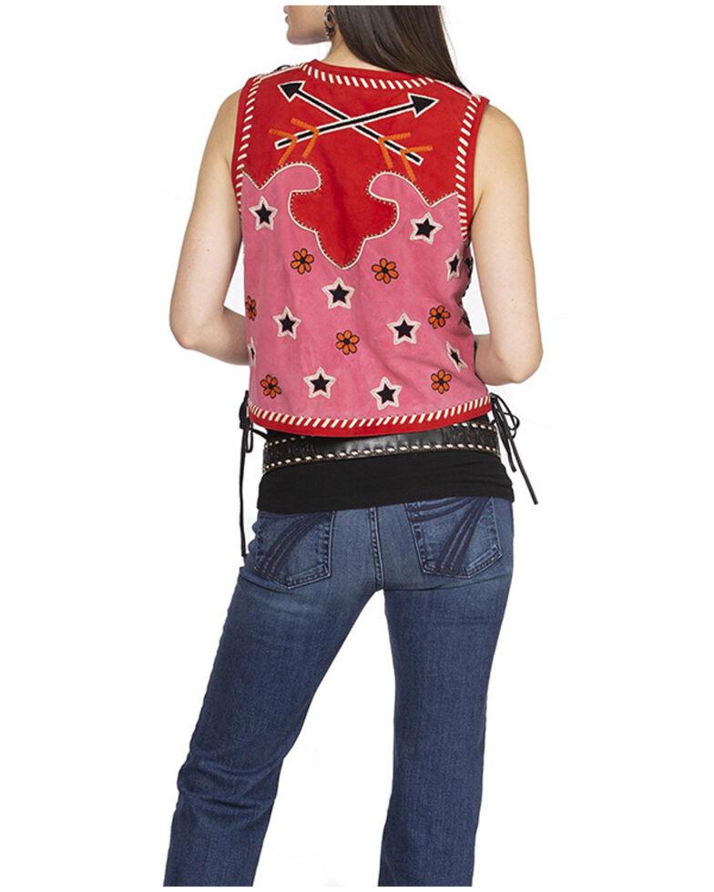 Double D Ranch Women's Roping The Wind Vest, Pink, hi-res