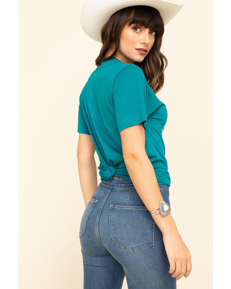 Ranch Dress'n Women's Good Taste In Horses Tee, , hi-res