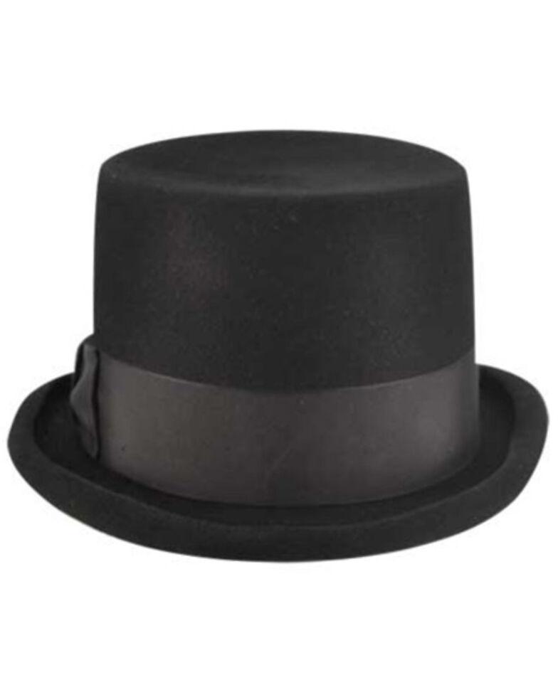 Bailey Western Big Zwey Black Top Hat, Black, hi-res