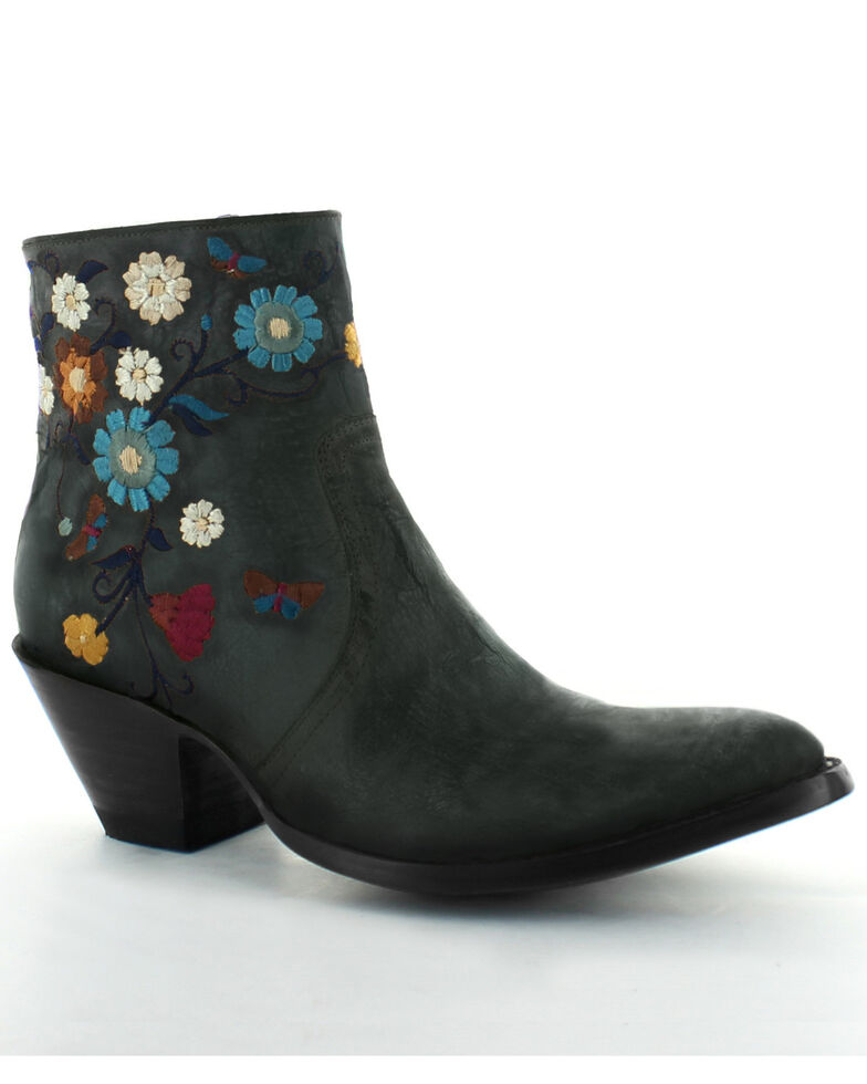 Old Gringo Women's Catlyn Fashion Booties - Round Toe, Black, hi-res