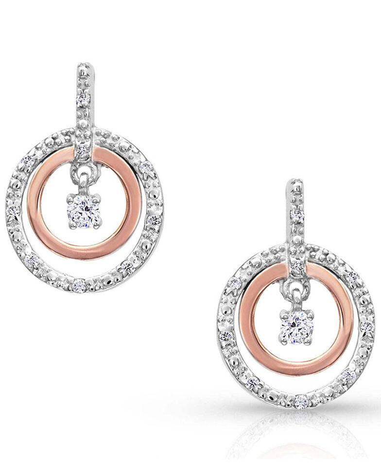 Montana Silversmiths Women's Haloed First Star Earrings, , hi-res
