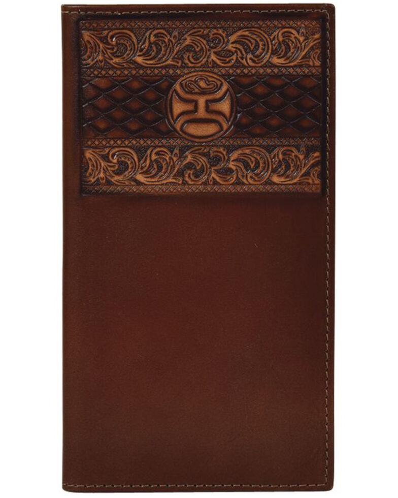 HOOey Men's Roughy Signature Rodeo Wallet, Brown, hi-res