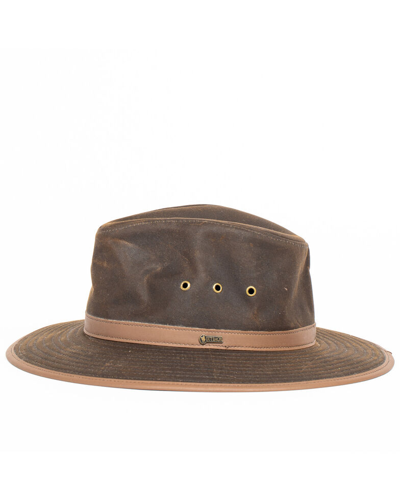 Outback Trading Co. Men's Deer Hunter Hat, Bronze, hi-res