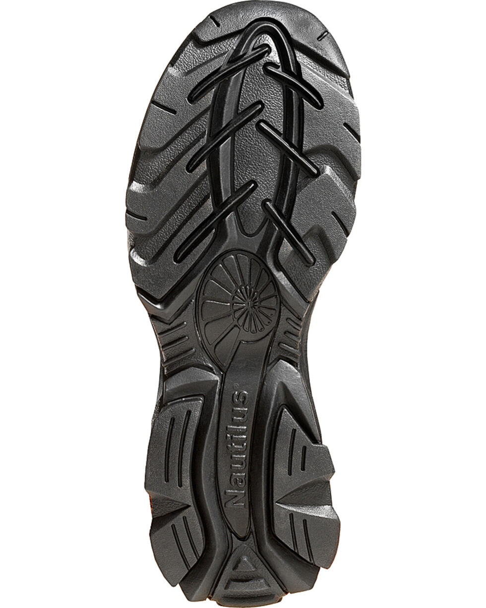Nautilus Women's ESD Slip-On Work Shoes - Steel Toe, Brown, hi-res