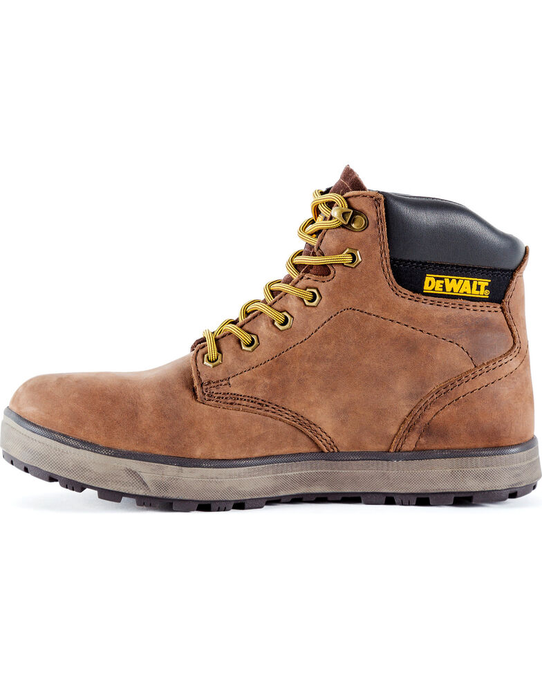 DeWalt Men's Plazma Hybrid Work Boots - Steel Toe, Brown, hi-res