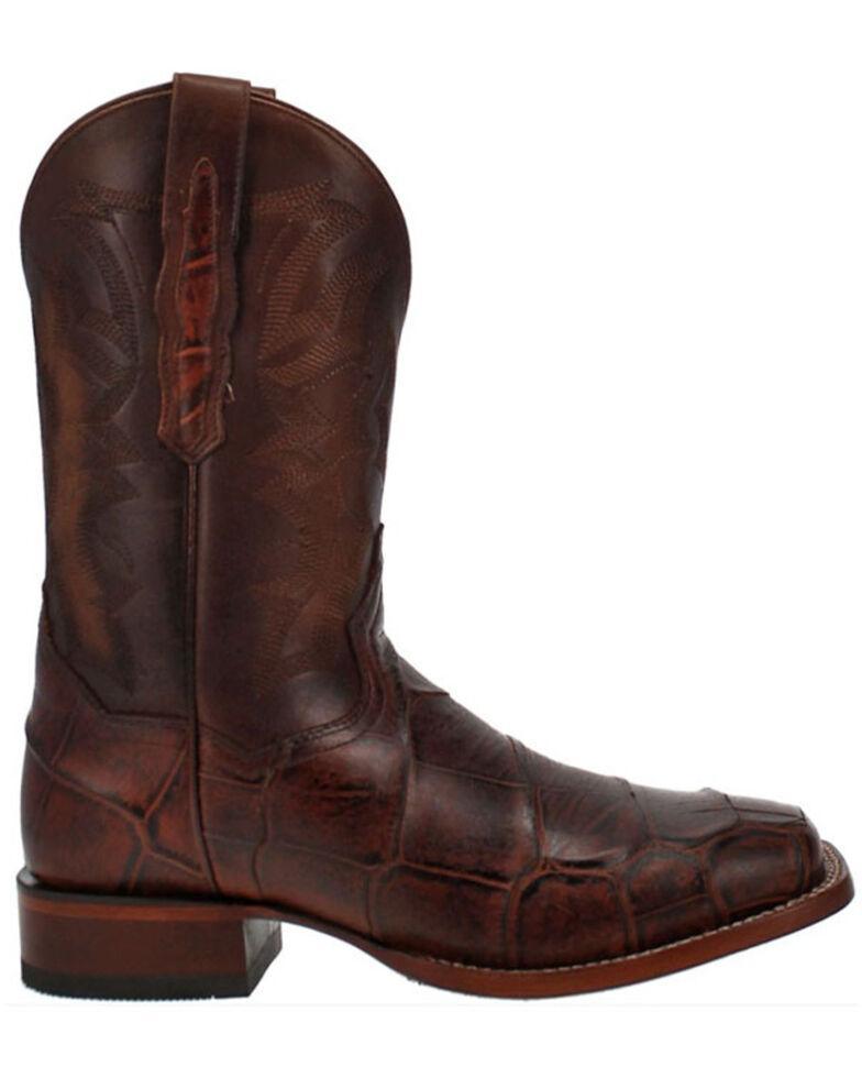 Dan Post Men's Akers Western Boots - Wide Square Toe, Cognac, hi-res