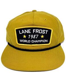Lane Frost Men's Yellow Grandpa Biscuit Rope Ball Cap , Yellow, hi-res