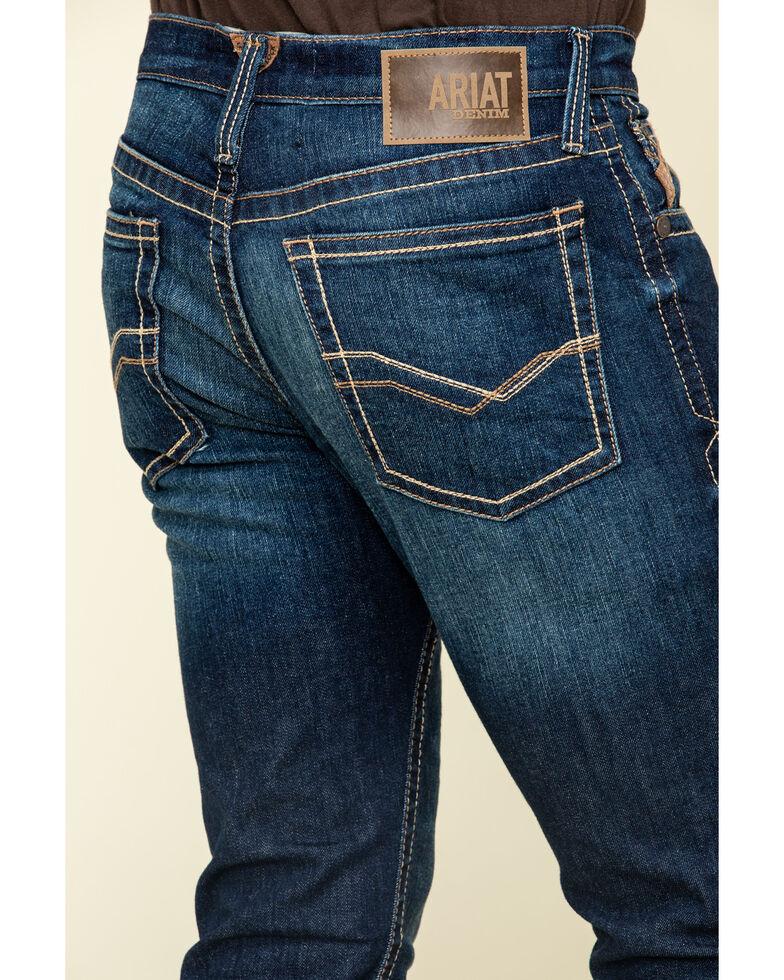 Ariat Men's M8 Rome Modern Stretch Slim Leg Jeans , Blue, hi-res